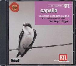 Capella [DOCUMENTO SONORO] [: splendeurs classiques à capella de la Renaissance au XX° siècle