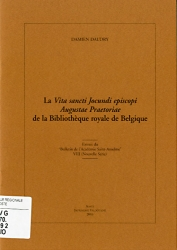 "La ""Vita sancti Jocundi episcopi Augustae Praetoriae"" de la bibliothèque Royale de Belgique"