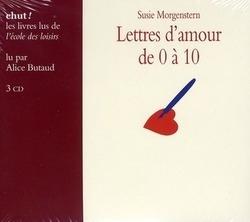 Lettres d'amour de 0 à 10 [DOCUMENTO SONORO]