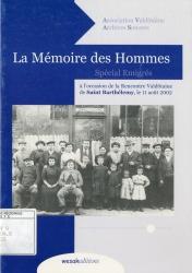 La mémoire des hommes