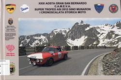 29. Aosta Gran San Bernardo CAMEVA, Super trofeo ASI 2012 Gino Munaron, 1. cronoscalata storica moto