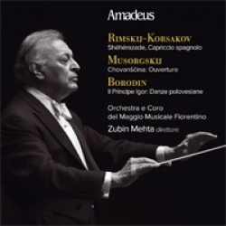 Rimskij-Korsakov, Musorgskij, Borodin [DOCUMENTO SONORO]