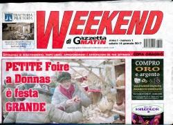 Weekend di Gazzetta matin