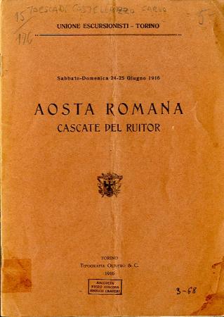 Aosta romana, cascate del Ruitor