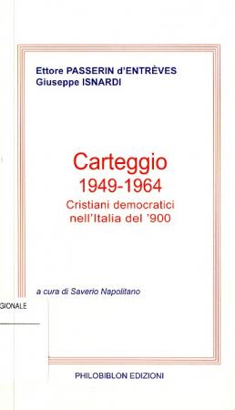 Carteggio, 1949-1964