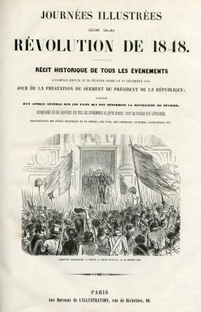 Journées illustrées de la révolution de 1848