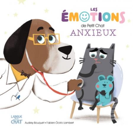 Les émotions de petit chat anxieux