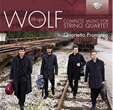 Complete music for string quartet [DOCUMENTO SONORO]