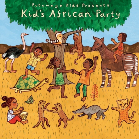 Kid's african party [DOCUMENTO SONORO]