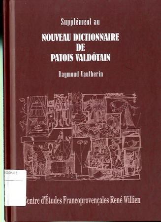 Supplément au Nouveau dictionnaire de patois valdôtain