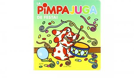 La Pimpa juga. De festa!