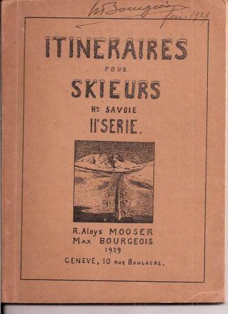 Itinéraires pour skieurs