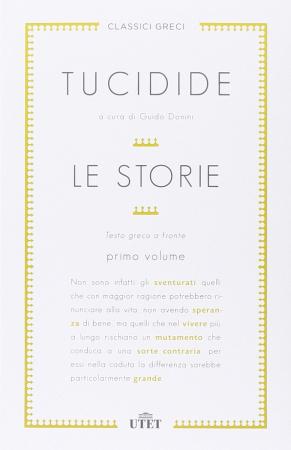 Le storie / Tucidide ; a cura di Guido Donini. Volume 1