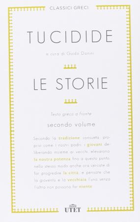 Le storie / Tucidide ; a cura di Guido Donini. Volume 2