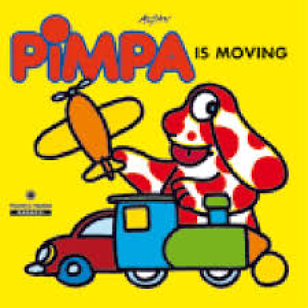 Pimpa is moving