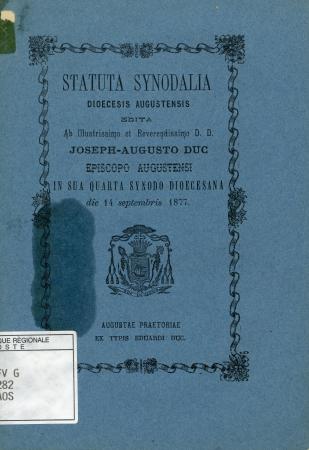 Statuta synodalia dioecesis augustensis