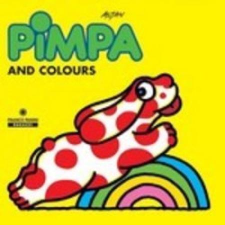 Pimpa and colours