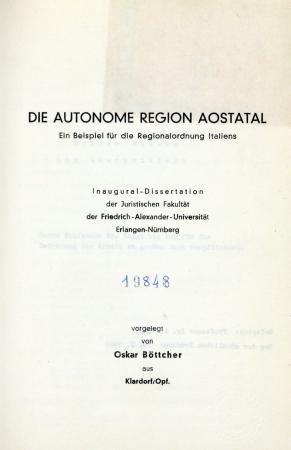 Die Autonome Region Aostatal