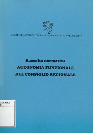 Autonomia funzionale del Consiglio regionale