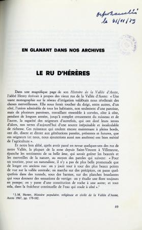 Le ru d'Hérères