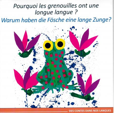Pourquoi les grenouilles ont une longue langue?