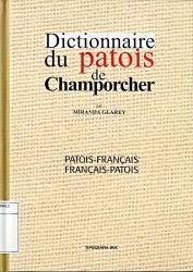 Dictionnaire du patois de Champorcher