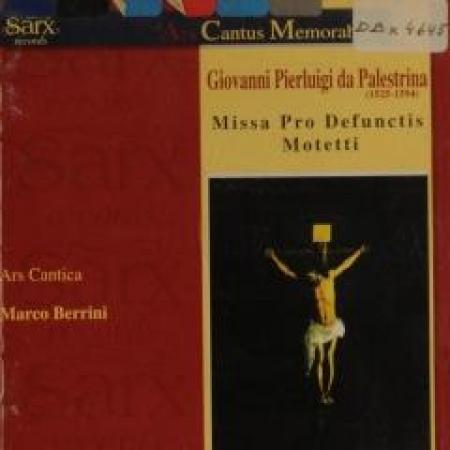 Missa pro defunctis [DOCUMENTO SONORO]