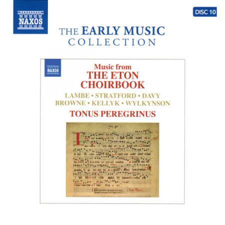 Music from The Eton Choirbook [DOCUMENTO SONORO]